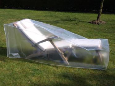 Housse de protection translucide bain de soleil