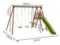 Dimensions : L. 3,40 m x P. 3,60 m x H. 2,35 m