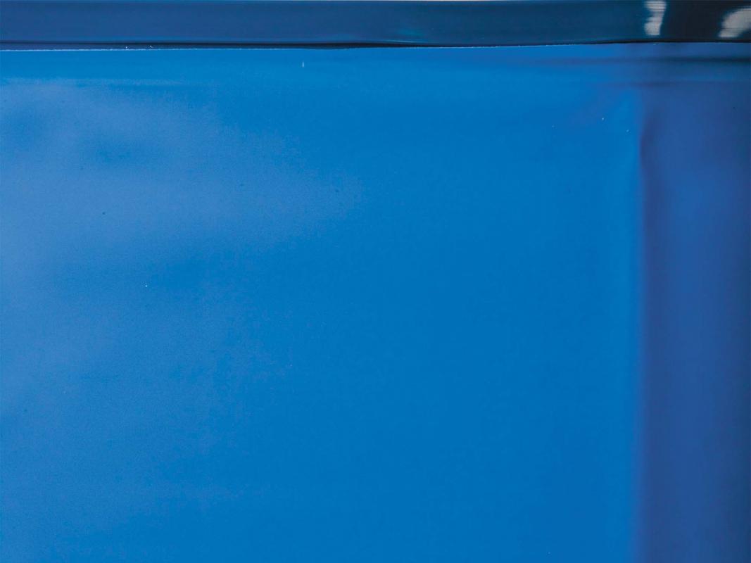 Liner pour piscine acier hors sol ovale h 1 20 m for Rail pour piscine hors sol