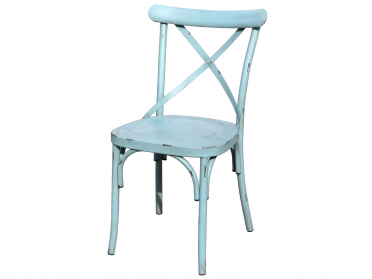 Chaise VINTAGE bleue