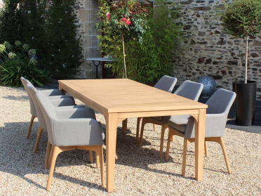 1 table + 6 fauteuils