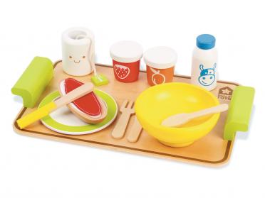 Dinette petit déjeuner pour enfant
