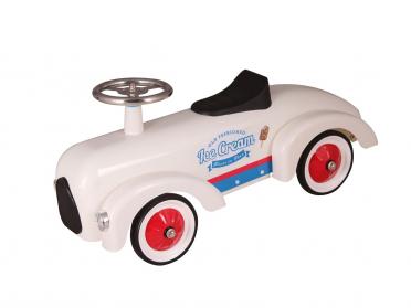 Petit bolide Marchand de glace - porteur voiture en métal