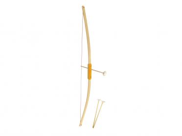 Arc et flèches en bois pour enfant