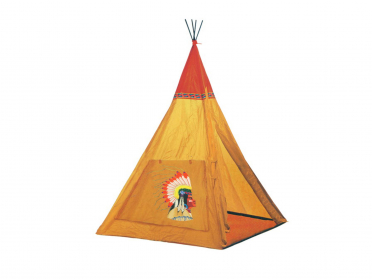 Tipi d'indiens grand chef