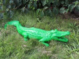 Crocodile vert S