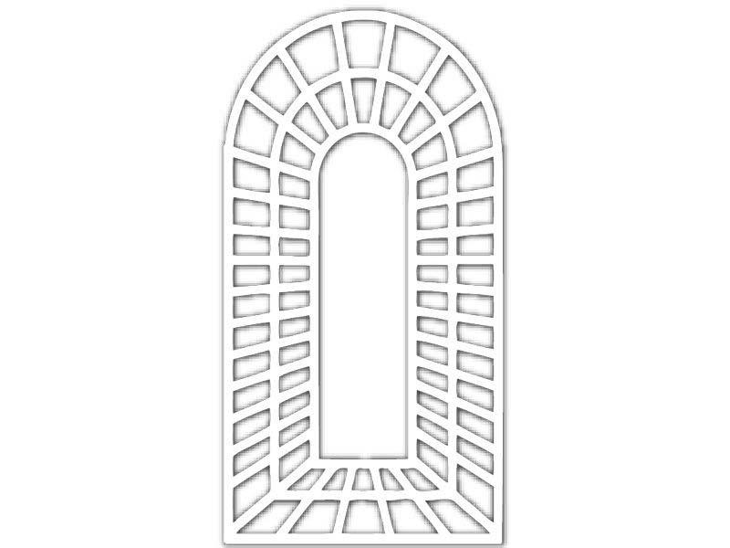 treillage trompe l 39 oeil baies jany l 0 72 m x h 1 80 m. Black Bedroom Furniture Sets. Home Design Ideas