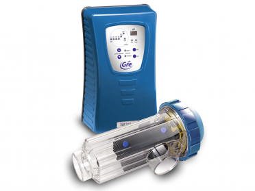 Électrolyse au sel pour piscines enterrées jusqu'à 50 m³ avec contrôle PH