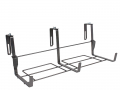 Fixations réglables de 0 à 16,5 cm, avec blocages de sécurité