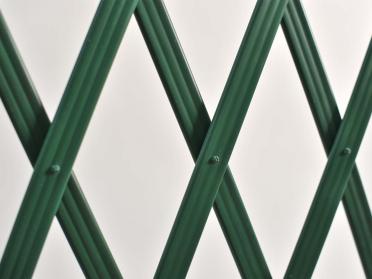 Treillage extensible PVC lattes striées L. 3 m