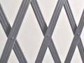 Treillage extensible en PVC lattes striées