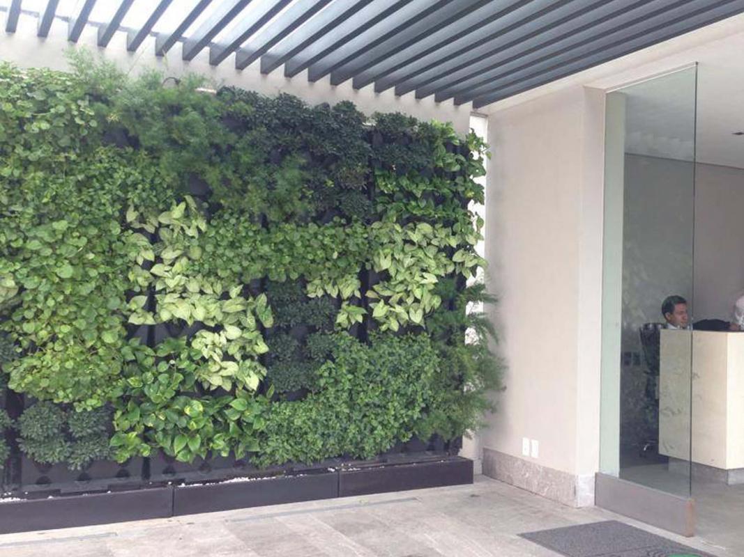 Lot de 3 jardini res syst me modulable pour cr er des for Creer son mur vegetal