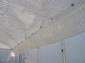 Toile avec bande alu - 2 bandes alu - Largeur 4.30 m - au mètre linéaire