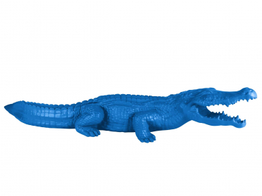 Crocodile 110 x 36 x 24 cm
