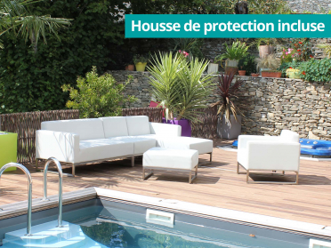 Housse de protection incluse