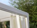 8 rideaux en Spun-Polyester® coloris blanc