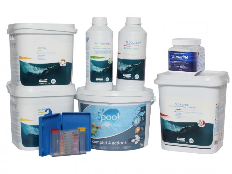 Votre kit traitement de l'eau