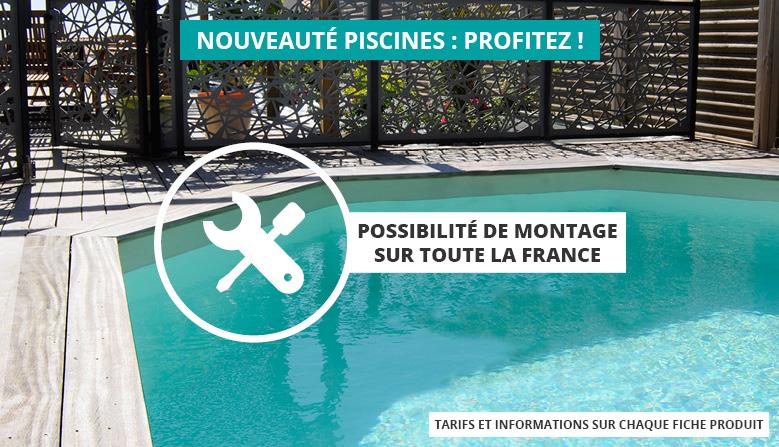 Montage de votre piscine bois