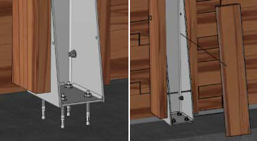 Installation des renforts de structure