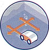 Pictogramme Fond et Parois - Robot Track Salt 4x4