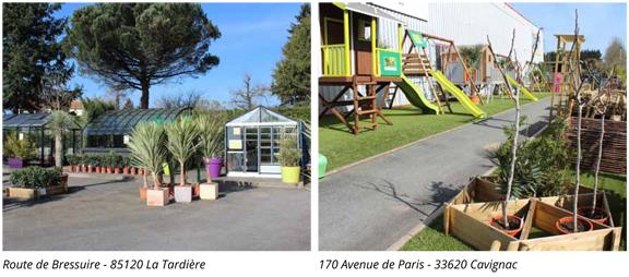 Jardimagine - Nos showrooms