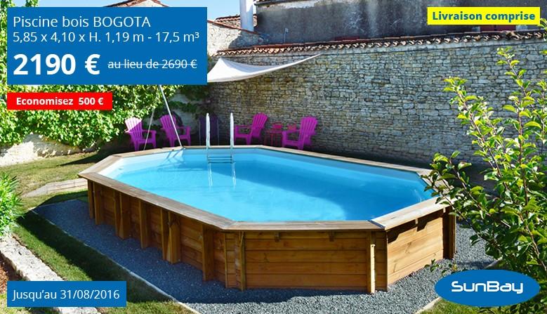 Promotion piscine en bois Bogota