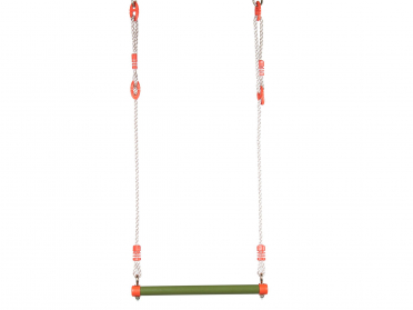 Trapèze en métal pour portique balançoire