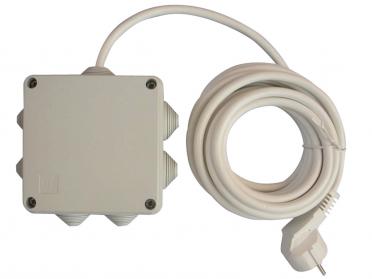 Pour câble chauffant au mètre linéaire sans thermostat