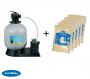 Groupe de filtration 16m3/h + Sable