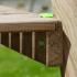Plateforme bois portique soulet